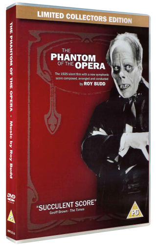 The Phantom of the Opera: Roy Budd Symphonic Score DVD