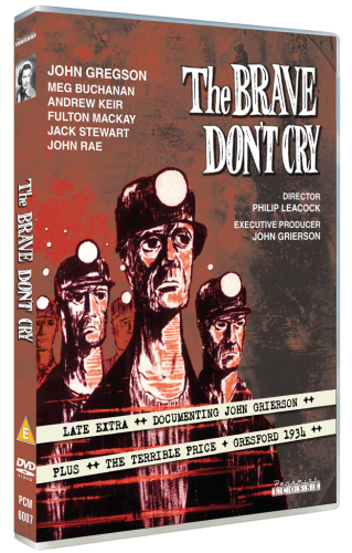 The Brave Don't Cry DVD